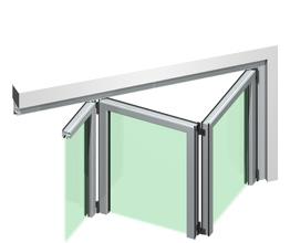Prodotti offerti dalla ditta crovetti claudio serramenti for Porta a soffietto dwg